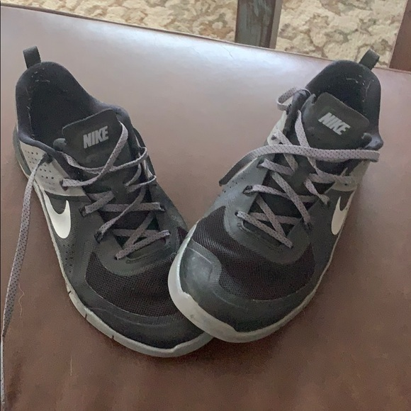 Nike Other - Nike black and gray athletic shoes
